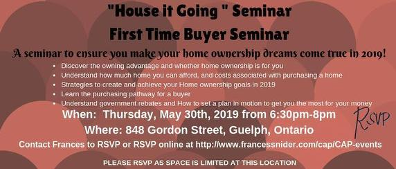 First Time Buyer Seminar